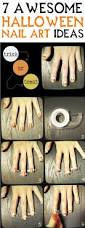 69 best halloween nail art images on pinterest halloween nail