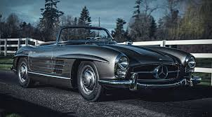 mercedes auction auction block 1958 mercedes 300 sl roadster hiconsumption