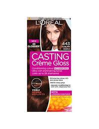 loreal hair color chart ginger casting créme gloss no ammonia hair colour l oréal paris