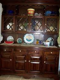 Ethan Allen Corner Cabinet by Ethan Allen Antiqued Pine Old Tavern 34