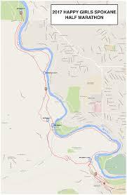 Spokane Washington Google Maps by Course Description Happy Girls Spokane Half Marathon 10k And 5k Run