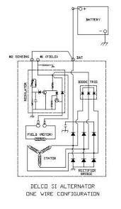 wiring diagrams how does an alternator work ac delco alternator