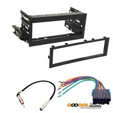 amazon com car stereo dash install mounting kit wire harness for