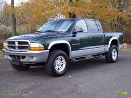 dodge dakota crew cab 4x4 for sale 2001 dodge dakota slt cab 4x4 in forest green pearl 325418