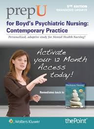 for boyd u0027s psychiatric nursing enhanced update