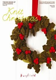 knit christmas a hayfield book 433 knit christmas hayfield bonus dk