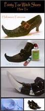 how to make pointy toe witch shoes halloweentutu com halloween