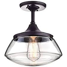 claxy ecopower vintage metal glass ceiling light 1 lights
