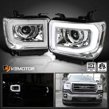 led lights for 2014 gmc sierra 14 15 gmc sierra 1500 15 16 2500hd 3500hd led drl bar projector