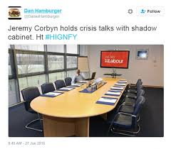 Conference Room Meme - jeremy corbyn names new top team of labour nobodies but twitter