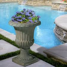Stone Urn Planter by 25
