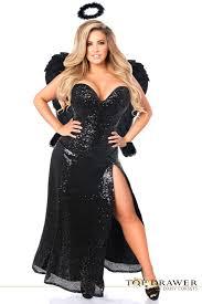 plus size costume top drawer plus size premium angel corset costume