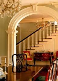 home interior arch design beautiful foyer entry of a traditional home designed and