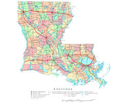 Chicago Toll Roads Map by Louisiana Map Usa Maps Of Usa Louisiana State Maps Usa Maps Of