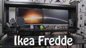 Ikea Studio Desk by Ikea Fredde Desk Overview Youtube