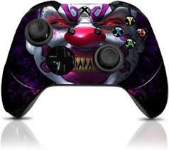killer clown custom xbox one controller with exclusive design