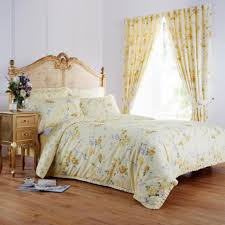 Flower Bed Sets Bedroom Trendy Decoration With Fascinating Yellow Bedding Sets