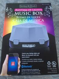rhythm of lights box in bluetooth speaker indoor