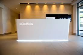 Corian Reception Desk Client Noble House Dealer Envoplan Pinteres