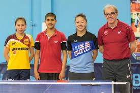 Us Table Tennis Team Table Tennis Olympians Train In Milpitas U2013 The Mercury News