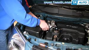 how to install replace engine air filter chevy equinox 3 4l 05 09