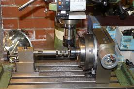 rotary table for milling machine milling the crank webs building a whittle v8