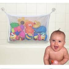 bathroom toy storage ideas kids baby bath tub toy tidy storage suction cup bag mesh bathroom