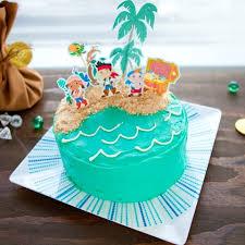 jake land pirates cake topper disney family