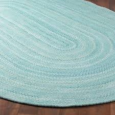 coastal colors braided chenille rug 4 colors home decorating
