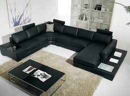 Inexpensive Sectional Sofas Furniture Black Leather Cheap Sectional With Black