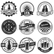 Design Your Own Home Brew Labels Set Of Vintage Craft Beer Labels And Emblems Labels For Pubs And