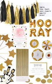 Happy New Year Invitation New Year U0027s Glam 2016 Nye Decor Inspo Etsy Uk Blog
