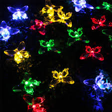 Solar Powered Fairy Lights Review by Zitrades 16ft 4 8m 20leds Butterfly Fairy Lights Solar Powered