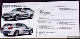 Bmw Interior Options F15 Bmw X5 Xdrive40e M Sport Plug In Hybrid Suv Launched In