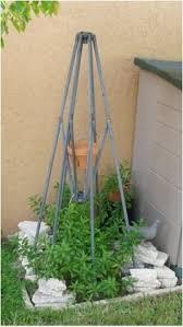 Patio Umbrella Frame Repurpose Your Patio Umbrella Frame In Your Garden