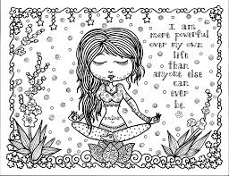 free coloring page coloring positive thought