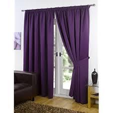 Blackout Curtains 72 Wide Pair Of Plum Purple 66