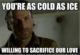 Walking Dead Stuff And Things Meme - the walking dead recap season 3 episode 15 this sorrowful life