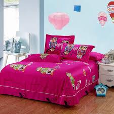 Owl Queen Comforter Set Aliexpress Com Buy Kids Owl Bedding Set Blue Boys Girls