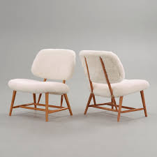 Easy Chairs Alf Svensson Lounge Chairs For Ljungs Industrier 1950s