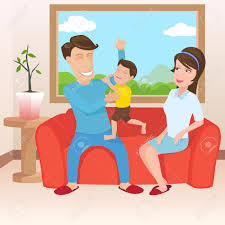 livingroom cartoon family room clipart clipground