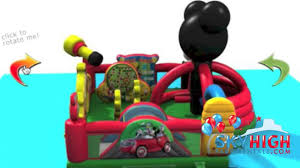 bounce house rentals houston mickey mouse moonwalk rentals in houston