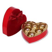 chocolate heart candy wedding favour heart shaped candy chocolate box gift