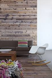 Wood Wall Living Room by Alfresco Home With Rustic Wood Interiors