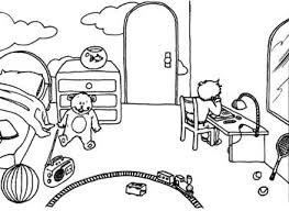 dessin chambre enfant dessin chambre vinci peint la rtro kraft affiche intrieur
