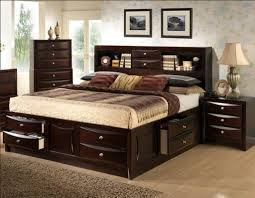 Modern King Size Bed Frame King Size Bed Frame With Bookcase Headboard Interior Decorating