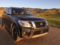 2017 nissan armada 4wd takes on the family road trip review