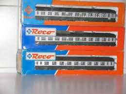 carrozze cuccette roco 3 carrozze cuccette sncf 2 x44608 1x 44607 ebay