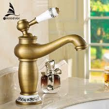 Antique Kitchen Faucet Luxury Antique Kitchen Faucet Single Handle Flower Carved Sink