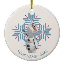 customizable disney frozen ornaments mouse